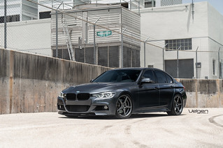 Bmw 340i Velgen Wheels Classic5 Gunmetal 19s Bmw 340i On