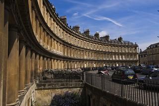 Bath England The Circus