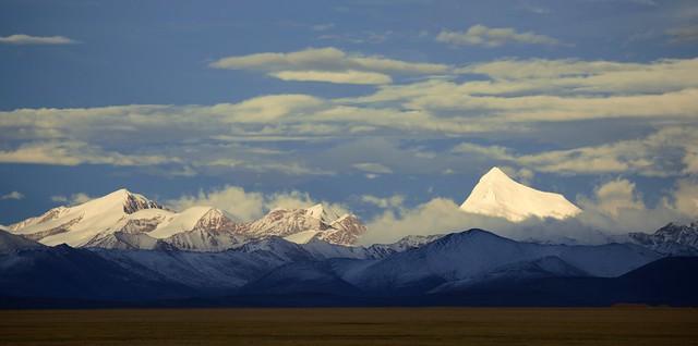 Mt Samdain Kangsang at Sunset, Tibet 2017
