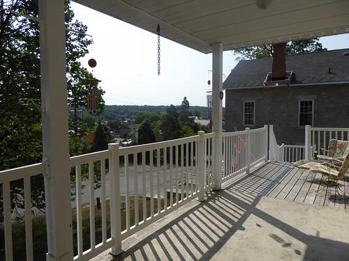 gorebay manitoulin island ontario summer frontporch porch view stonehouse thestonehouse bb bedandbreakfast
