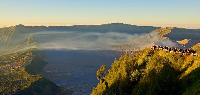 Sunrise over Mount Bromo