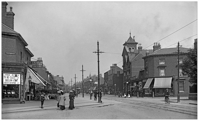 Coventry Road Birmingham Circa 1908. (obs,0277)