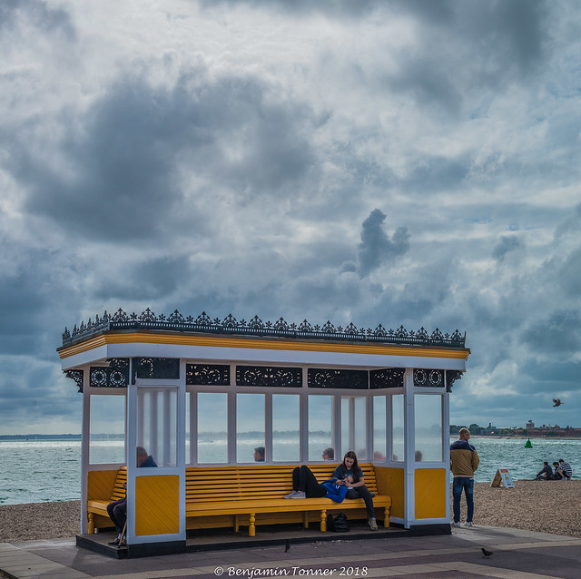 Southsea seafront shelter