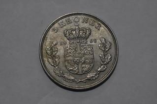 Denmark 1968 5 Kroner