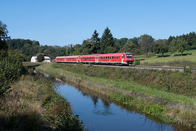 Letzter 611er-Herbst auf der Südbahn.