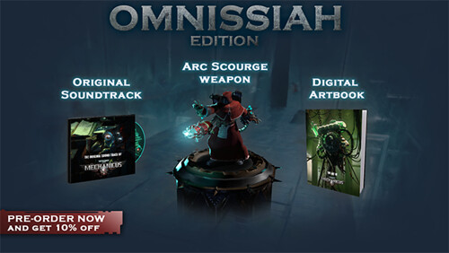Copy of Pre-Order Omnissiah Edition v4 steam-size | by GamingLyfe.com