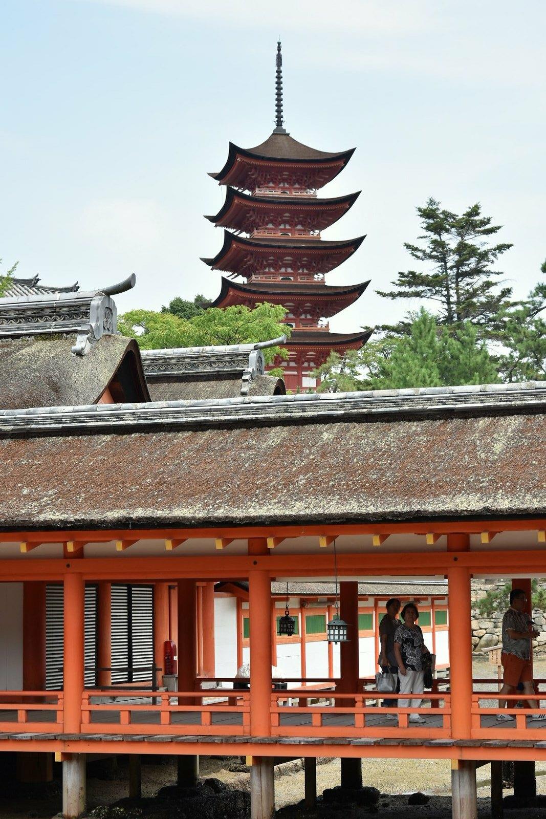 Miyajima - pagode à 5 étages