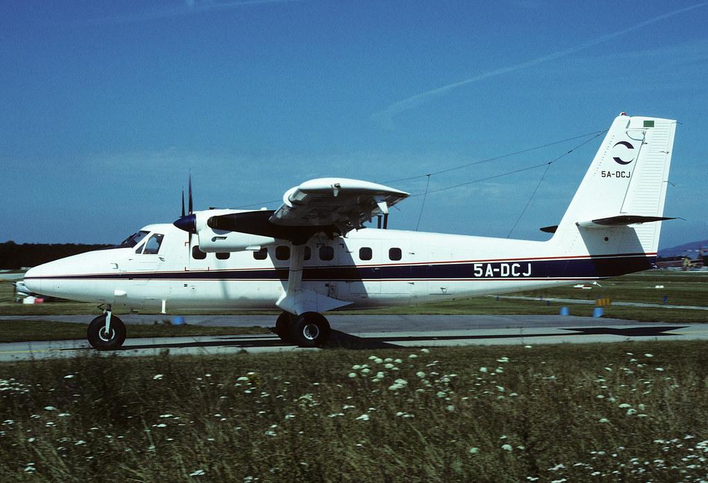 De Havilland Canada DHC-6-300 Twin-Otter Zueitina Oil Comp
