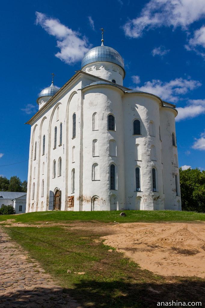 Георгиевский собор, Юрьев монастырь, Новгород Великий
