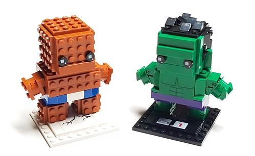 43193480574 9222b831aa Brickheadz – Thing v Hulk