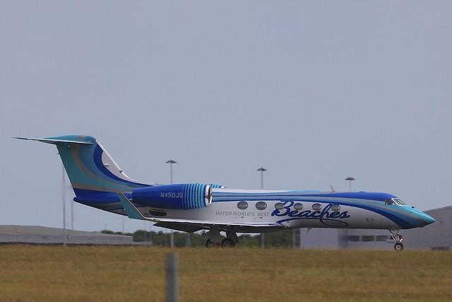 N450JS Gulfstream G450 STN 19Jul2018