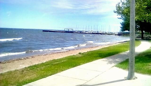 Beach at Veteran's Memorial Park!