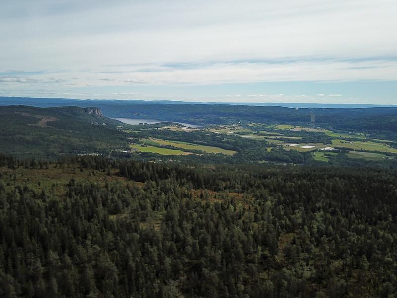 05-Utsikt mot Sylling (drone)