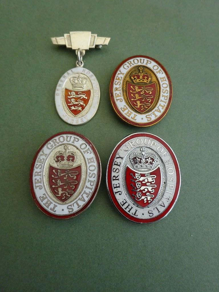 Assorted Jersey Hospital badges | Peter Maleczek | Flickr