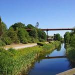 Die alte Emscher im Landschaftspark Duisburg-Nord