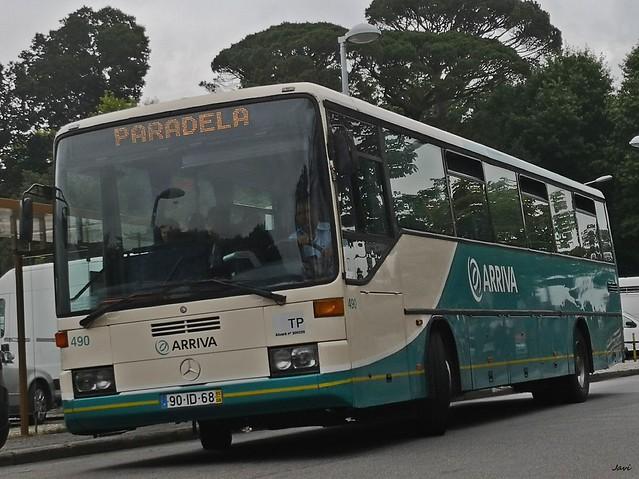 Mercedes 0408 490 de Arriva Portugal