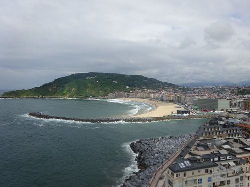 View over Donostia from Urgull hill | by Zugführer