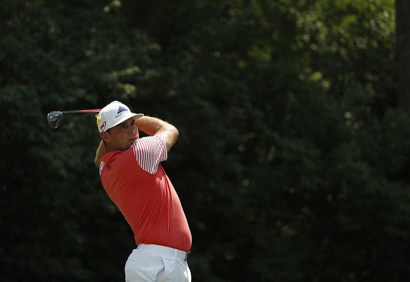 Gary Woodland尋求生涯第1場四大賽冠軍。(達志影像資料照)
