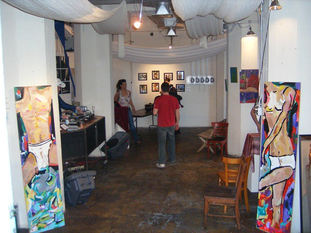 Intimate at Melting Point Gallery
