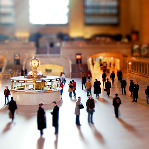 Grand Central, Tilt-Shift Fake, New York City | by Northcountry Boy