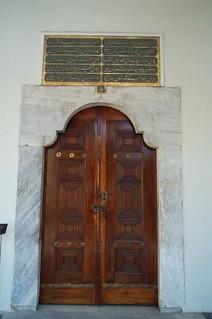Wooden Door at Topkapi