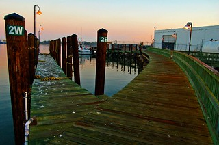 two piers diverged | by zabethanne