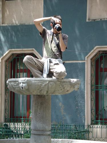 Fotógrafos en acción