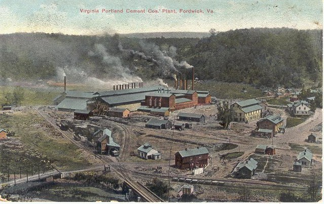 Lehigh Portland Cement | An old postcard of the Lehigh Portl