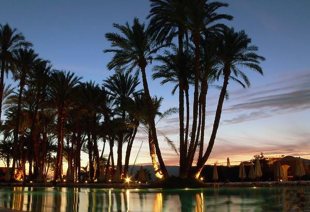 Sunset in Luxor - 13 Second Exposure