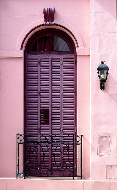 Purple window