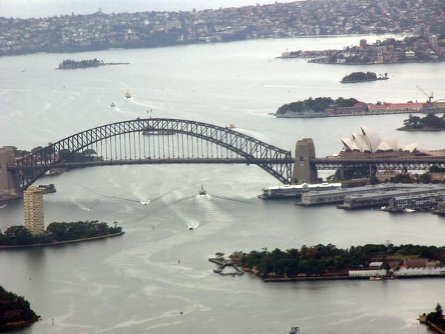 Sydney Harbour close up
