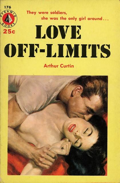 Pyramid Books 176 - Arthur Curtin - Love Off-Limits