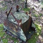 Relikt aus der Zeit der industriellen Nutzung des Gleisparks Frintrop