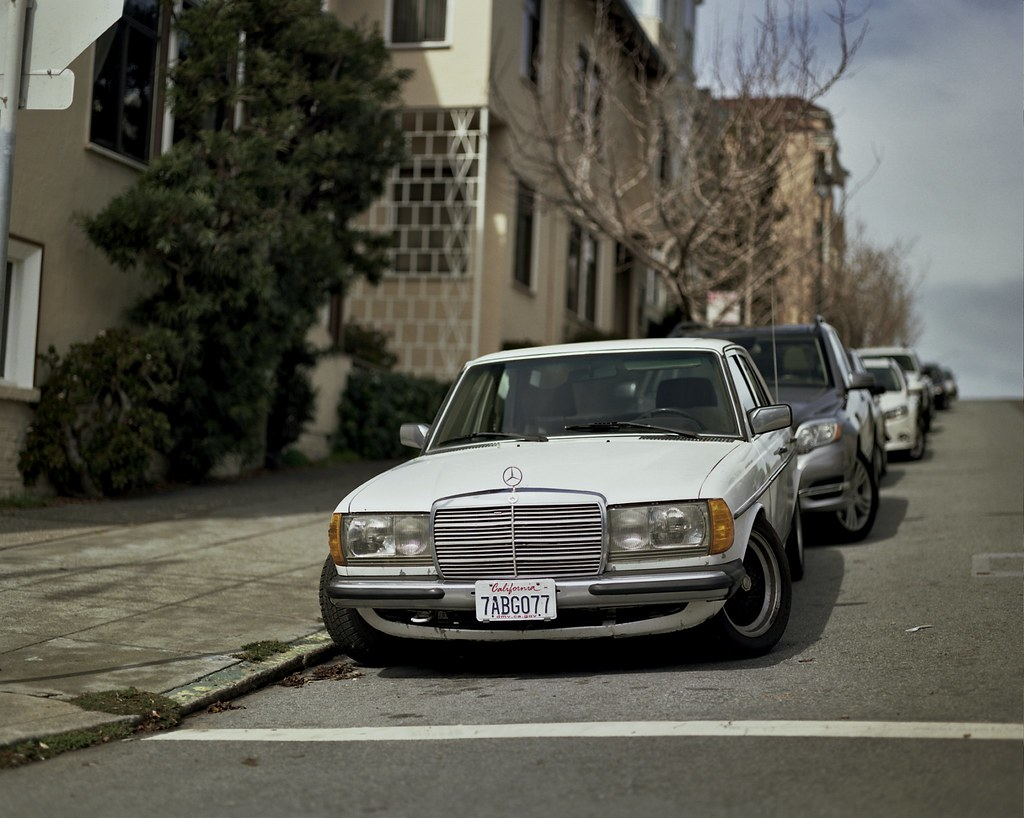 Mercedes Benz Of San Francisco >> Mercedes Benz W123 In San Francisco Pentax 6x7 Pentax 67 1