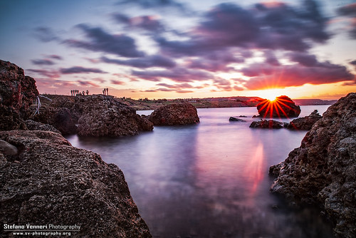 Sunset in Capo Colonna | by StefanoV89