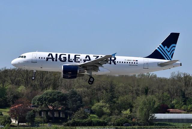 Aigle Azur Airbus A320 F-HBAO