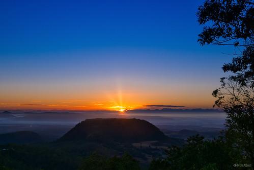 rangeville sunrise queensland australia au