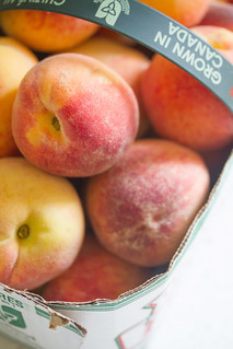 Basket of Peaches | by Isabelle @ Crumb