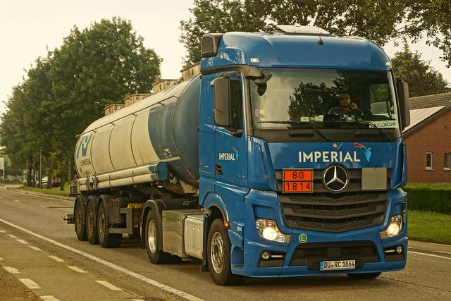 Mercedes-Benz Actros MP4 E6 1845 Streamspace - Imperial Tanktransport GmbH Duisburg, Deutschland