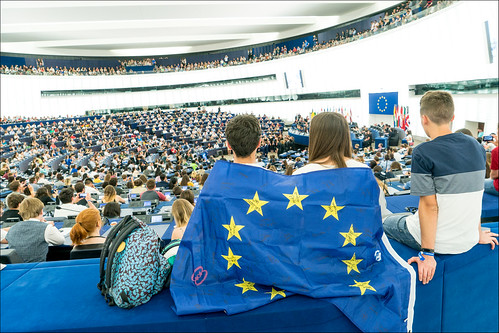 "EYE 2018: ""You are the children of a modern, democratic and open Europe"" 