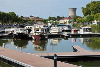 Montceau-les-Mines (71) : canal du Centre