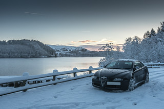Alfa in the snow | by Nigel_O