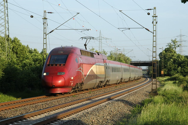 Thalys 4303 (SNCF) - Lintorf - 17/05/2018.