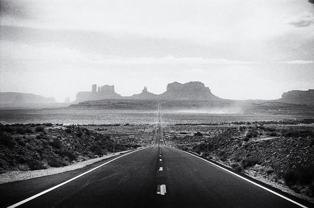 Forrest Gump Road  (Portra 160)