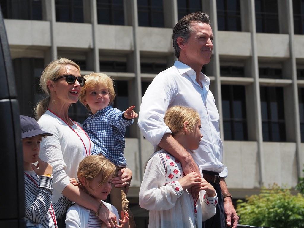 Lt Gov Gavin Newsom At L A S Families Belong Together M Flickr