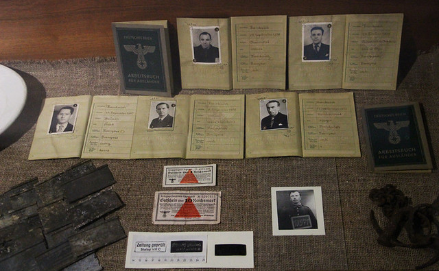 The Great Escape Museum - Forged passes and papers