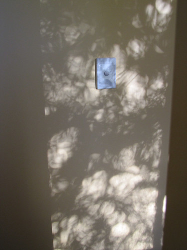 Light Picture On Ensuite Wall – Completed Strawbale House Build in Redmond Western Australia | by Red Moon Sanctuary
