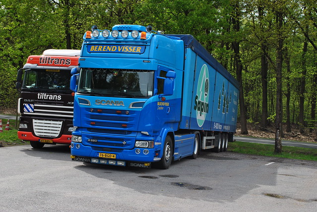 Scania R520 Berend Visser Drachten