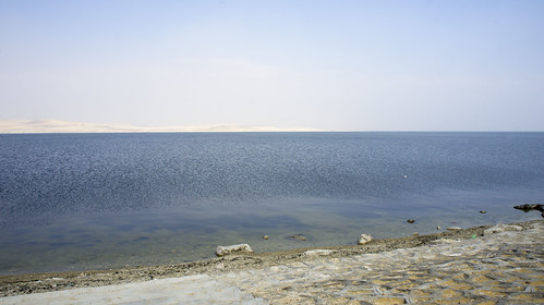 At Egypt's Lake Qaron in Fayoum | by Kodak Agfa