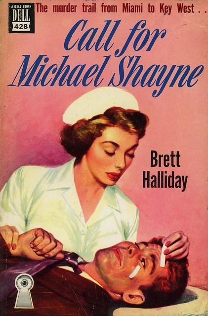 Dell Books 428 - Brett Halliday - Call for Michael Shayne